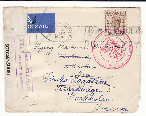 FINLAND - GB…FINNISH RUSSIAN WINTER WAR RAF GROUND CREW…