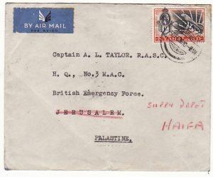 NYASALAND - PALESTINE... 1936 BRITISH EMERGENCY FORCE…