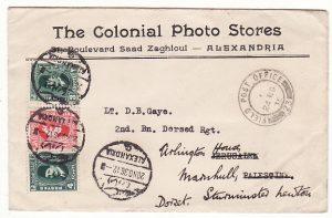 EGYPT - PALESTINE…1936 PALESTINE UPRISING …