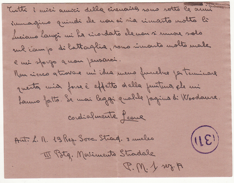 [19041]  FRANCE…ITALIAN OCCUPATION of S.E. FRANCE…  1943 (Mar 14)