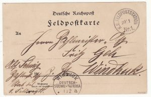 GERMAN SOUTH WEST AFRICA … HERERO WAR ...