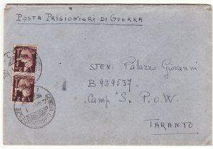 """ITALY …WW2 FASCIST CAMP """"S"""" for ITALIAN R.S.I. POW's  ....."""