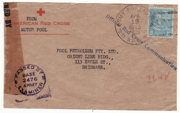 AUSTRALIA…WW2 USA FORCES in AUSTRALIA from 28th SURGICAL HOSPITAL…