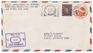 AUSTRALIAN NEW GUINEA - AUSTRALIA…WW2 USA FORCES on AUSTRALIAN TERRITORY …