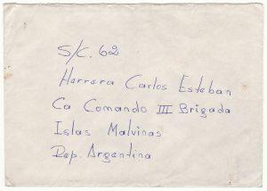 ARGENTINA - FALKLAND Is…..ARGENTINE FORCES during 1982 WAR.