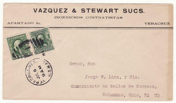 MEXICO-USA...1914 US INTERVENTION in VERA CRUZ…