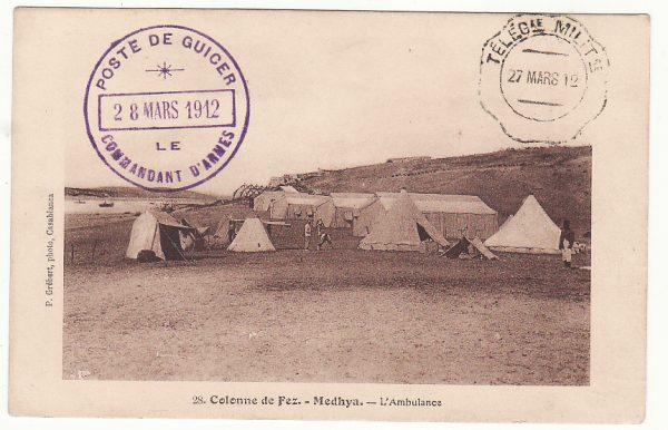 MOROCCO - FRANCE…FRENCH OCCUPATION …