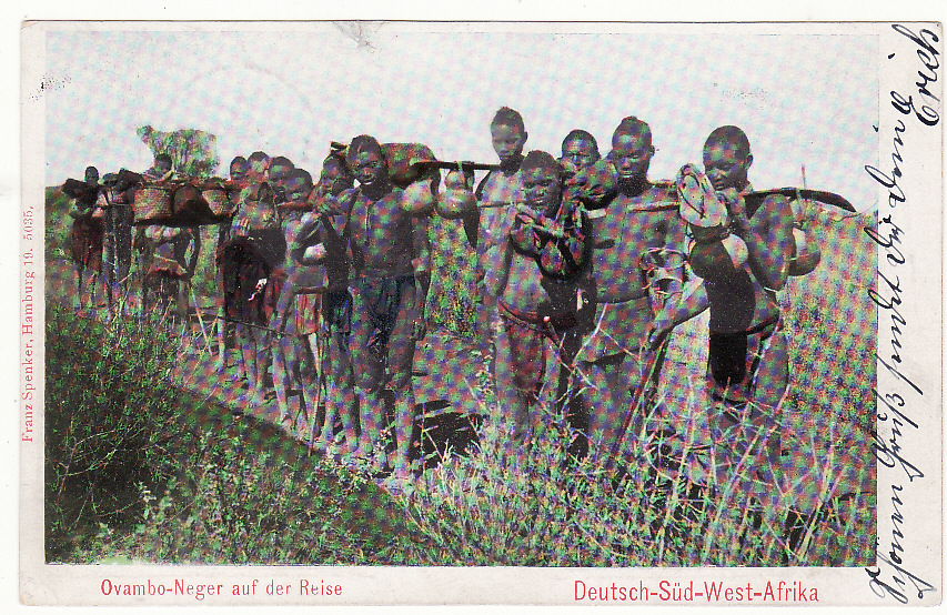 [19694]  GERMAN SOUTH WEST AFRICA - GERMANY … HERERO WAR ...  1905 (Mar 20)