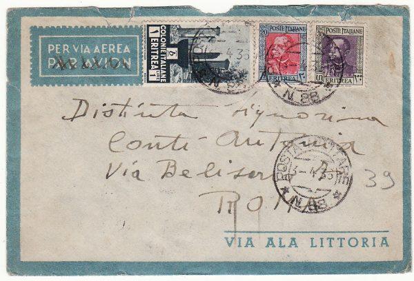 ITALIAN EAST AFRICA - ITALY…ITALO-ETHIOPIAN WAR..