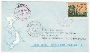 VIET-NAM…VIET-NAM WAR INTERNAL MILITARY MAIL….
