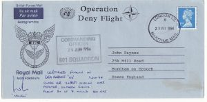 YUGOSLAVIA - GB … OPERATION DENY FLIGHT over BOSNIA ...