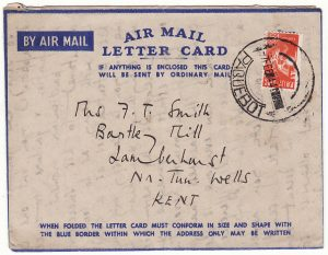 SOUTH AFRICA - GB…WW2 FLEET MAIL OFFICE