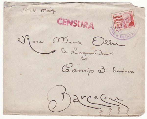 SPAIN..CIVIL WAR REPUBLICAN SOLDIER to FEMALE SOLDIER..