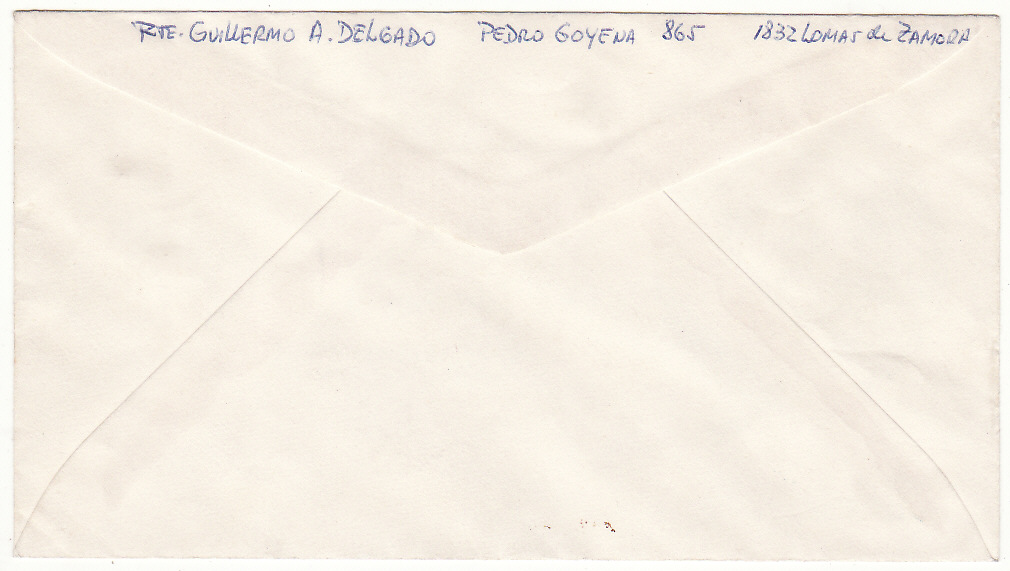 [19855]  ARGENTINA - FALKLAND ISLANDS…... FALKLANDS WAR PROPAGANDA NAVAL MAIL…  1982 (May 10)