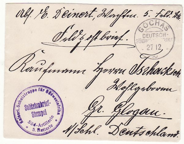 GERMAN SOUTH WEST AFRICA - GERMANY … HERERO WARS 1903 - 1907 ...