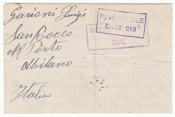 TANGANYIKA - ITALY..WW2 EVACUEE CAMP No. 1 at TABORA…