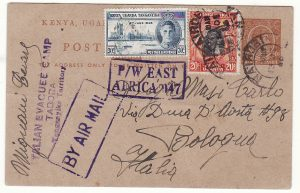 TANGANYIKA - ITALY..WW2 ITALIAN EVACUEE CAMP TABORA…