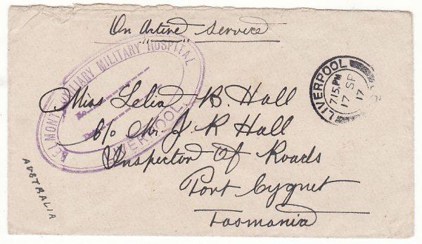 GB - AUSTRALIA…WW1 BELMONT AUXILIARY MILITARY HOSPITAL..