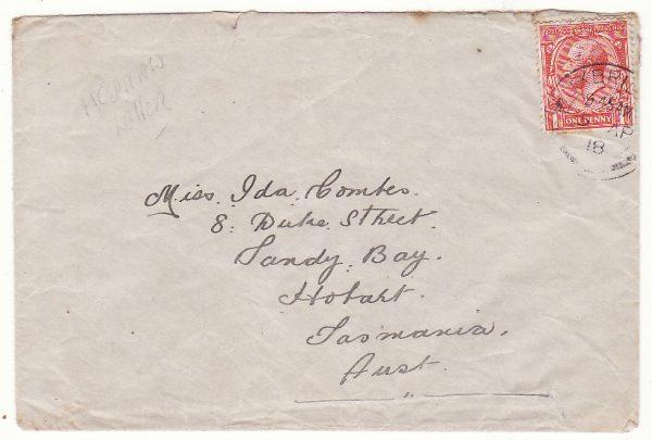 GB - AUSTRALIA…WW1 1st AUSTRALIAN AUXILIARY HOSPITAL