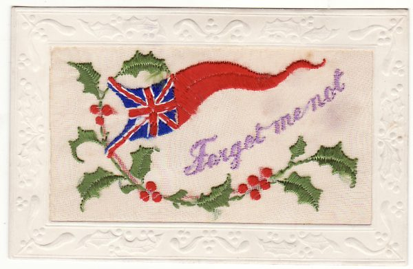 AUSTRALIA…WW1 PATRIOTIC SILK POST CARDS..