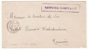 NEW CALEDONIA - USA …WW2 SERVICE SANITAIRE…