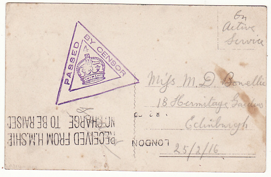 [17446]  ITALY-GB...NAVAL HOSPITAL at PALERMO...  1916 (Feb 2)