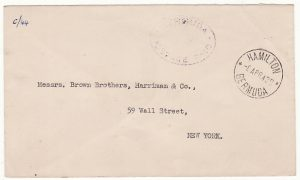 BERMUDA - USA...WW2 POSTAGE PAID…