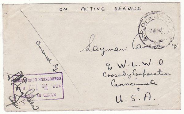 KENYA - USA …WW2 SOUTH AFRICAN FORCES's  at KUNCHURRO..