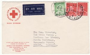 AUSTRALIA - NEW ZEALAND…WW2 RED CROSS N.S.W. DIVISION…