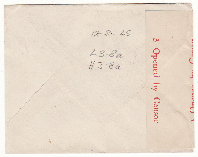 [20234]  AUSTRALIA - SWITZERLAND…WW2 to RED CROSS, GENEVA at RESTORED 1/6 EMPIRE ROUTE .…  1945 (Aug 12)