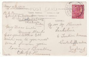 INDIA - GB……WW1 MILITARY MAIL from KAILANA CAMP