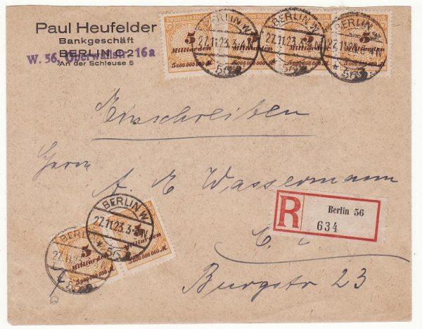 GERMANY…NOVEMBER 1923 INFLATION..