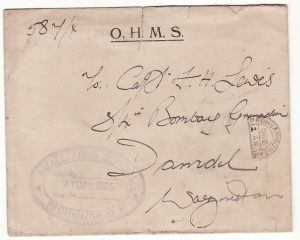 INDIA - PAKISTAN …O.H.M.S. SMALL ARMS SCHOOL & TAXED…