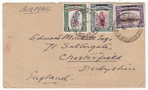 NORTH BORNEO - GB…1949 CROWN COLONY from BEAUFORT..