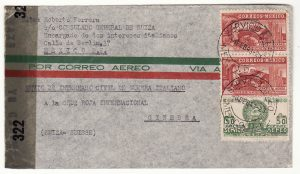MEXICO - SWITZERLAND …WW2 SWISS CONSUL for ITALIAN CIVIL INTERNEES