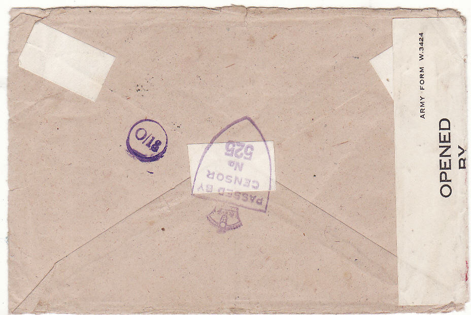 [20515]  BRITISH SOMALILAND - GB….WW2 BRITISH FORCES HONOUR ENVELOPE…  1945 (May 1)