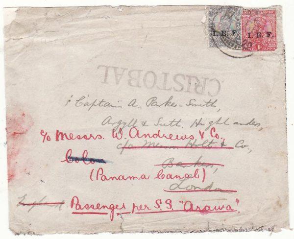 PALESTINE - PANAMA …WW1 CANAL ZONE..