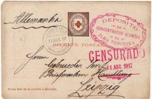 PORTUGAL - GERMANY …WW1  POW at LOURENCO MARQUES  ...