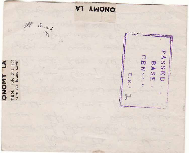 [20577]  MAURITIUS - GB…WW2 AMLC with UNRECORDED CENSORSHIP..  1943 (Feb 2)